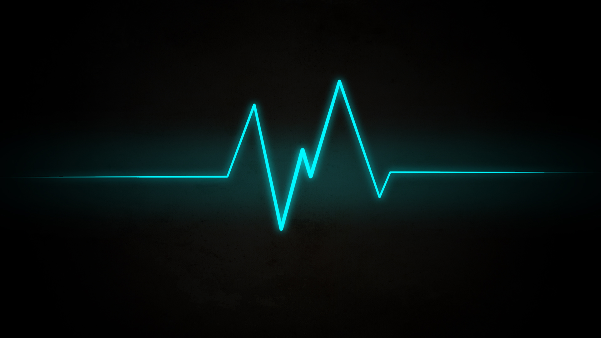 Wave Heartbeat Abstract 1920x1080