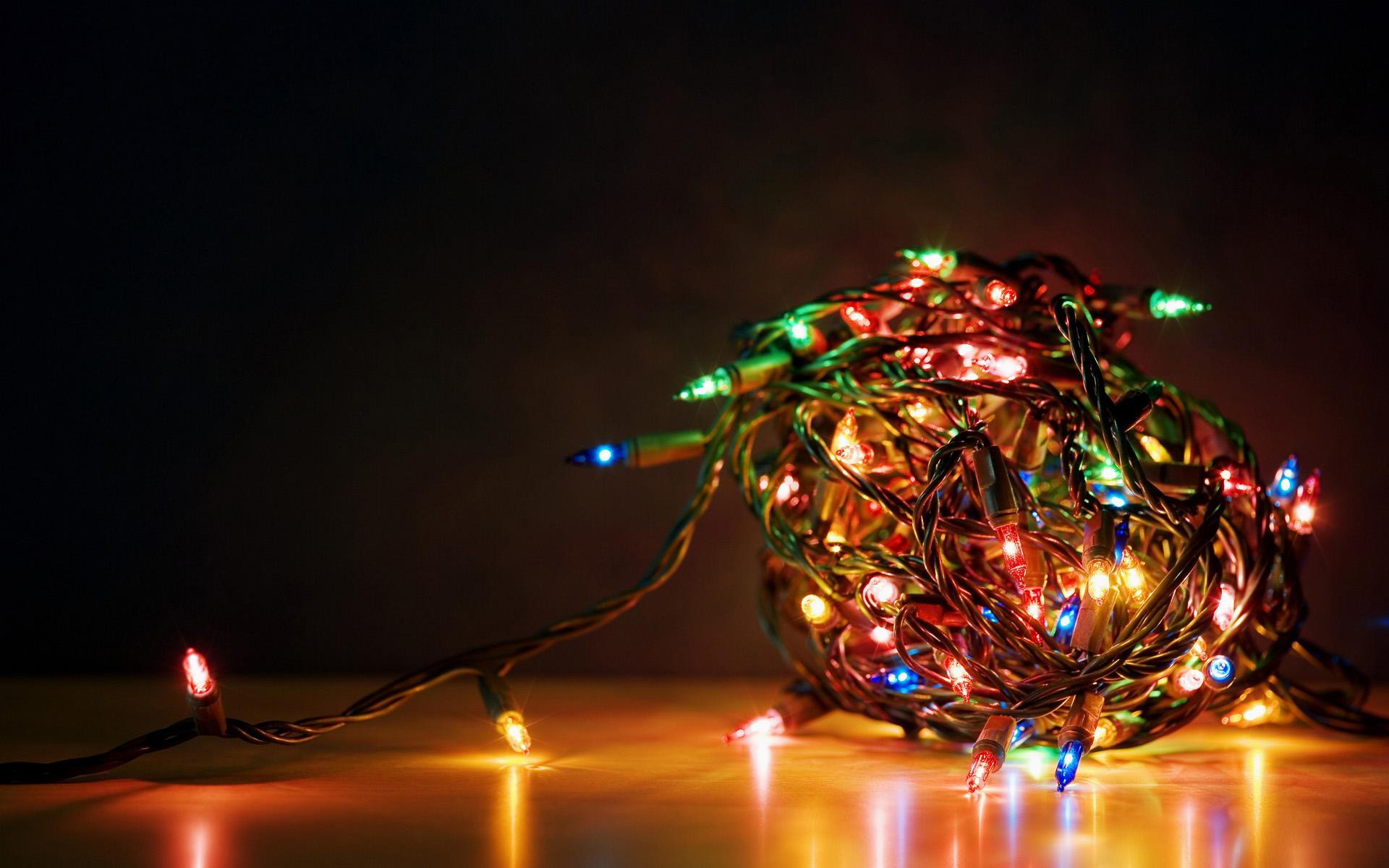 Free Desktop Christmas Lights