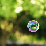 A soap bubble, Sweden